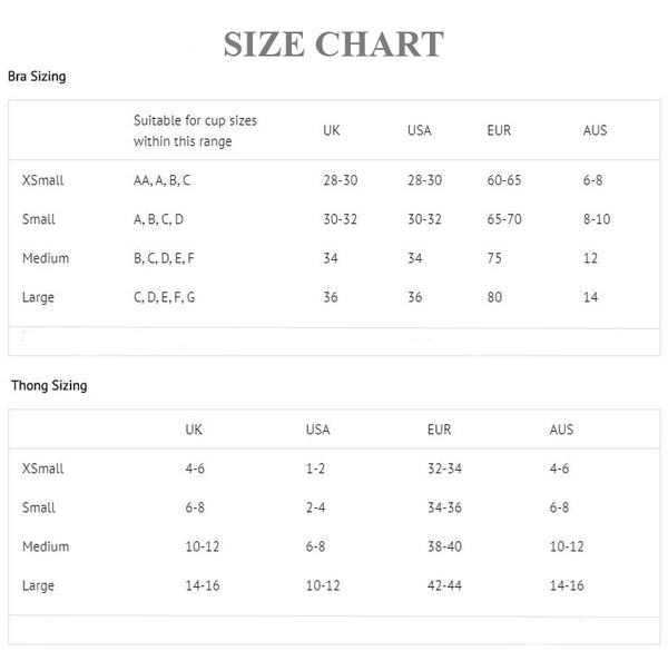 Elena Dolce Size Guide