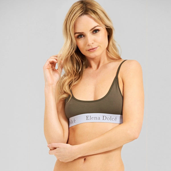 Lotus - Jersey Scoop Bra Top