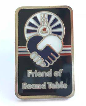Friend of RoundTable pin