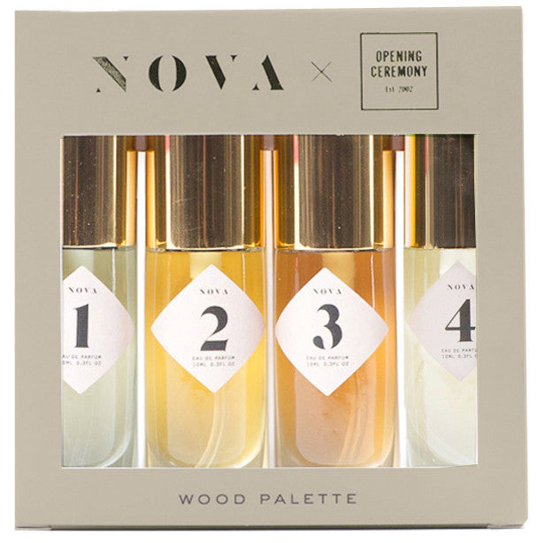 #NOVAPalettes for Opening Ceremony: WOOD
