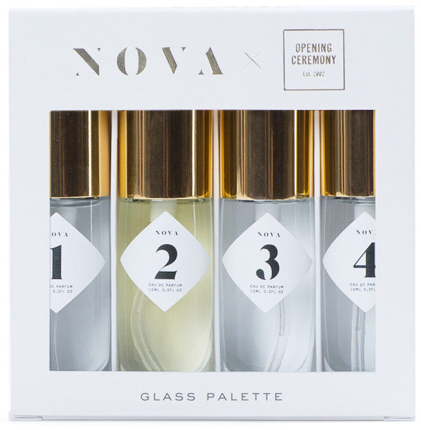 #NOVAPalettes for Opening Ceremony: GLASS