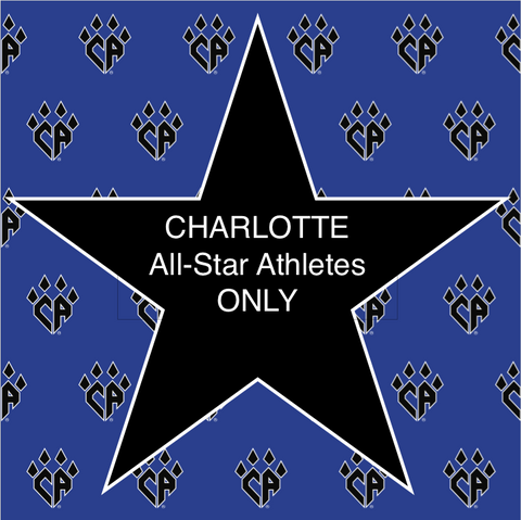 CA CHARLOTTE All-Star Athletes ONLY