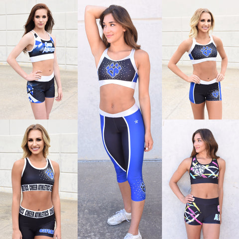 Official Cheer Athletics Practice Wear