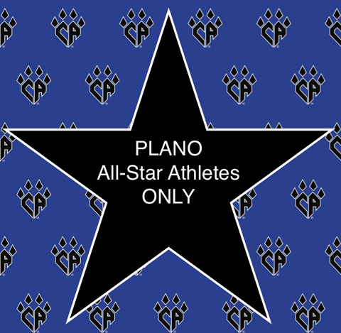 PLANO All-Star Athletes ONLY