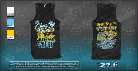 2017 Worlds Tank Top