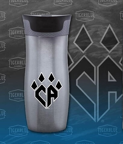 Gunmetal Travel Coffee Mug