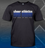 cheer athletics team t-shirt
