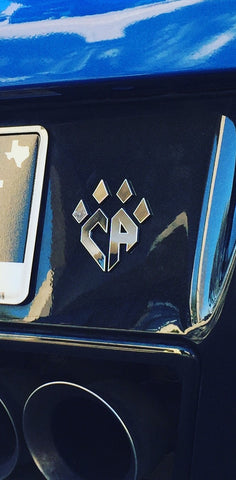 Chrome Car Decal