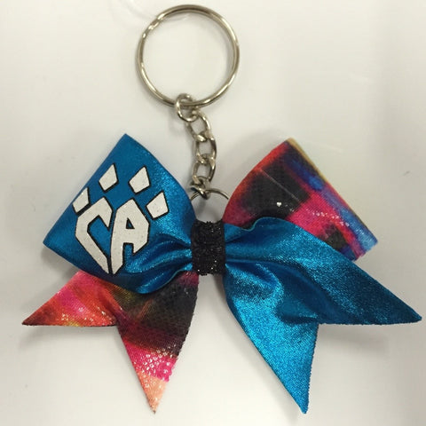 Plaid Keychain Bow