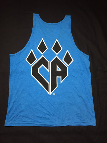 Neon Blue Claw Tank