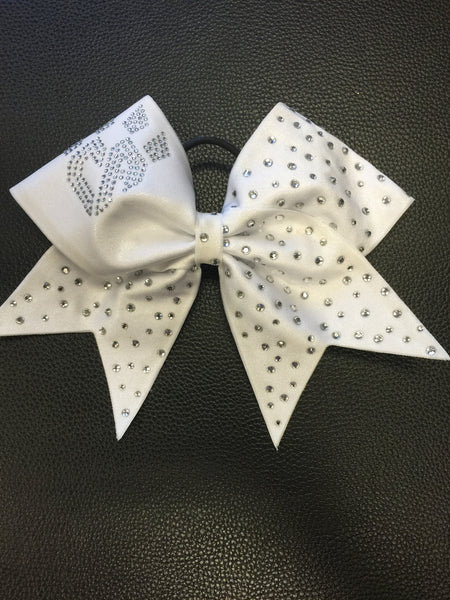 Limited Edition White Bling Bow