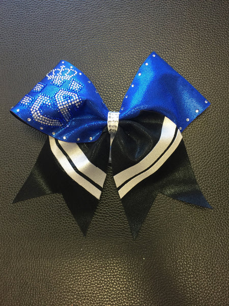 Limited Edition Blue Loop Crown Bow