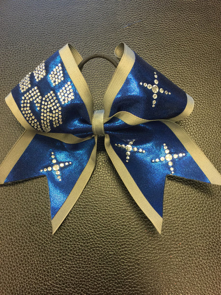 Limited Edition Blue/Gray Bow