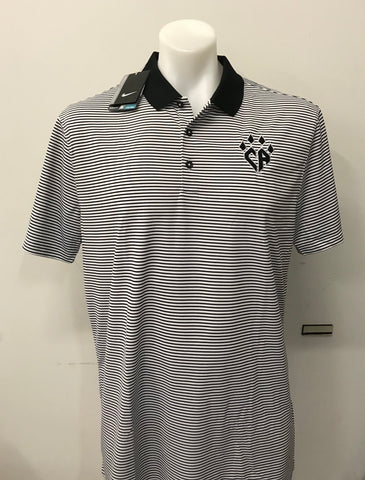 NIKE Striped Men's Polo