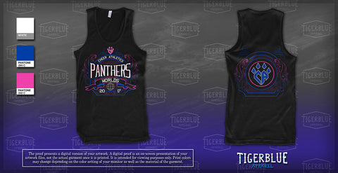 2017 Panthers Worlds Tank