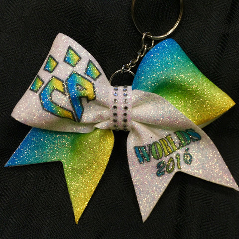 2016 Worlds Keychain Bow