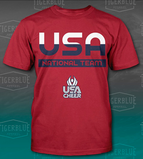 USA Cheer Tshirt