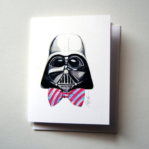 Darth Vader with Bow Tie