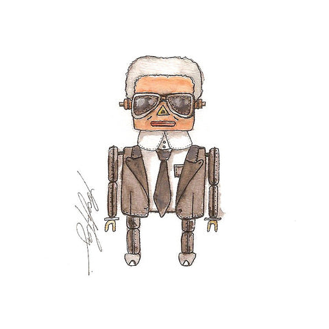 Karl Lagerfield Robot