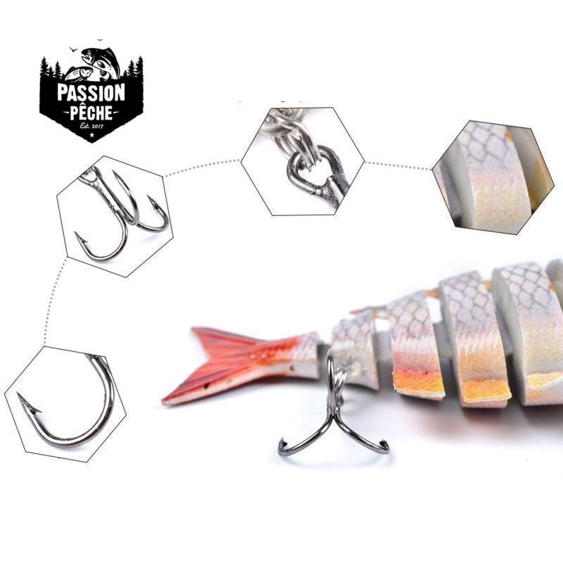 Swimbait Crank 6 Segments 10cm/14g