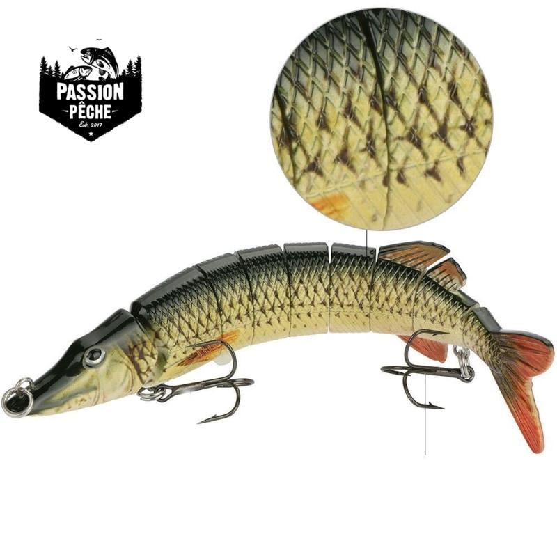 Leurre Swimbait Multiarticulé Brochet 200mm