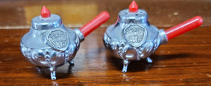 Vintage Death Valley, CA cook pot salt & pepper shakers