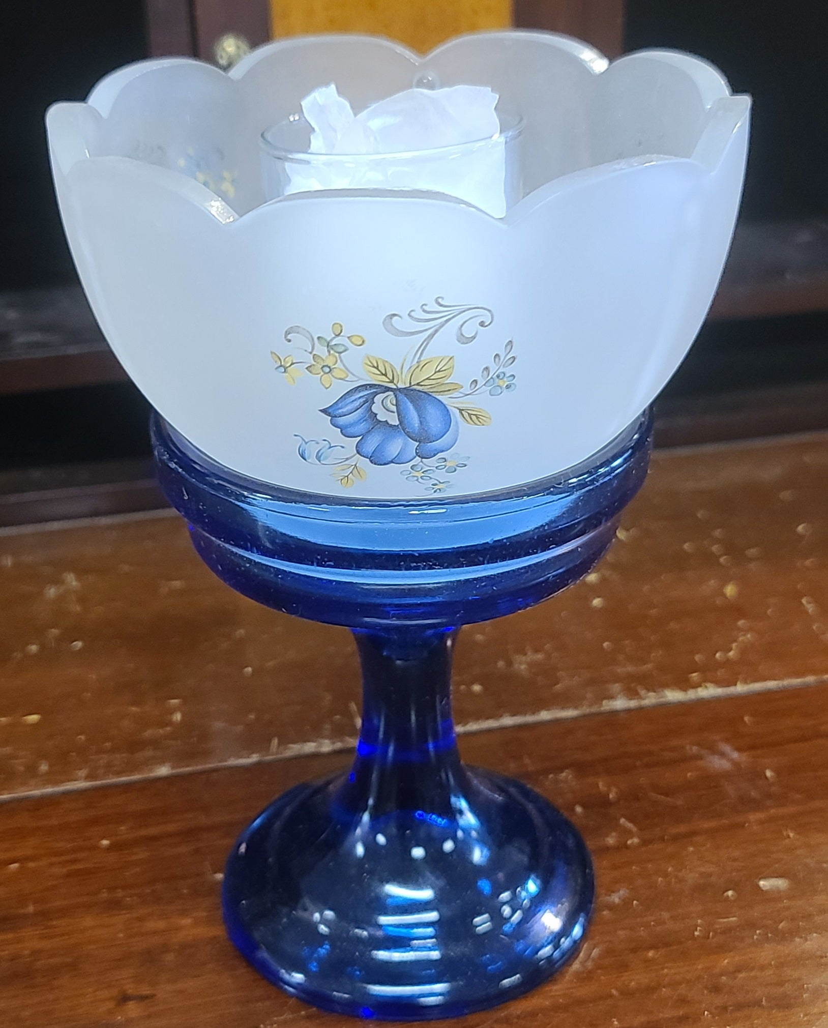 Vintage Smith Glass Country Charm votive