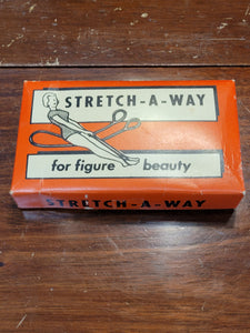 Vintage stretch-a-way for figure beauty