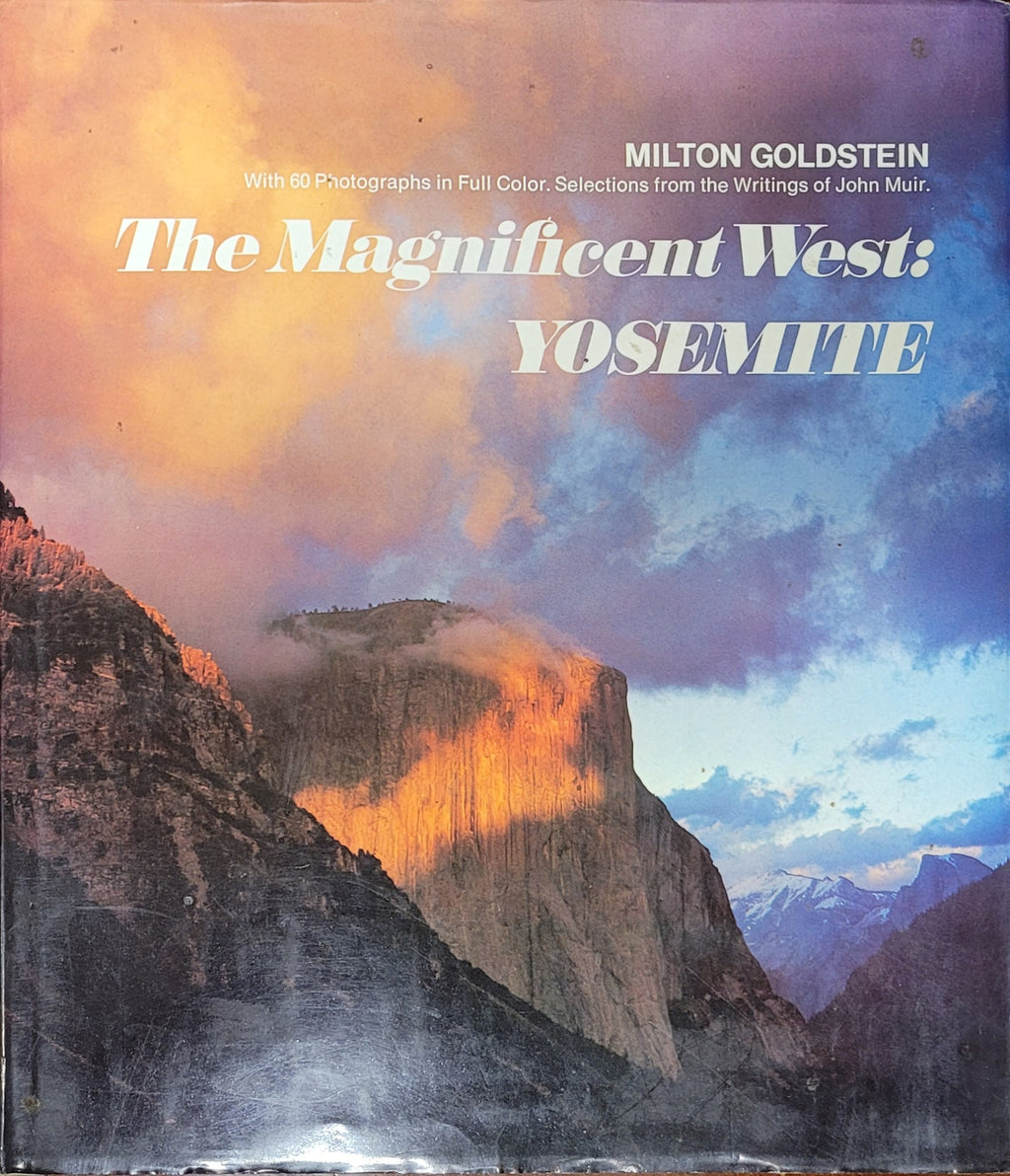 Vintage Book: The Magnificent West: Yosemite