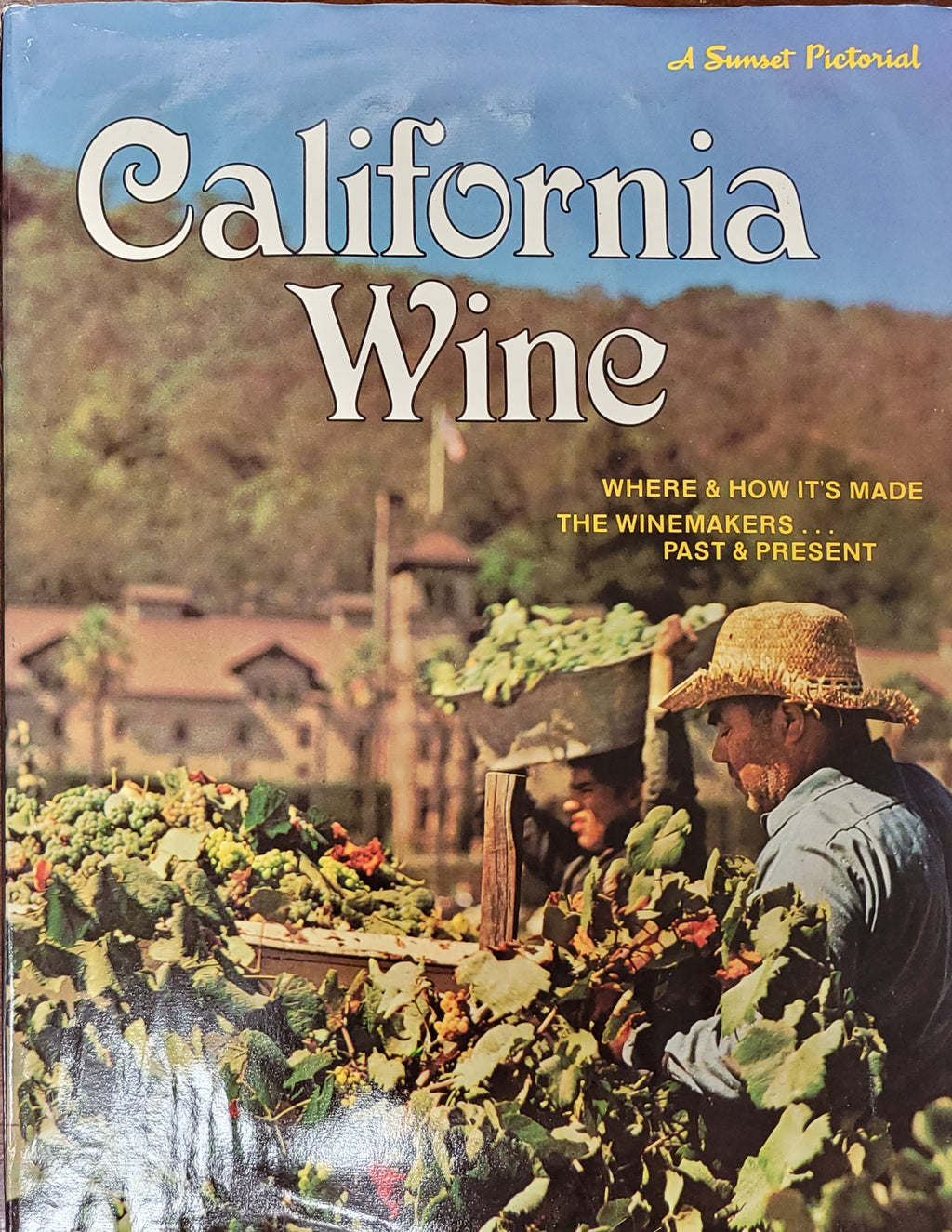 Vintage Book: California Wine, first edition, 1973