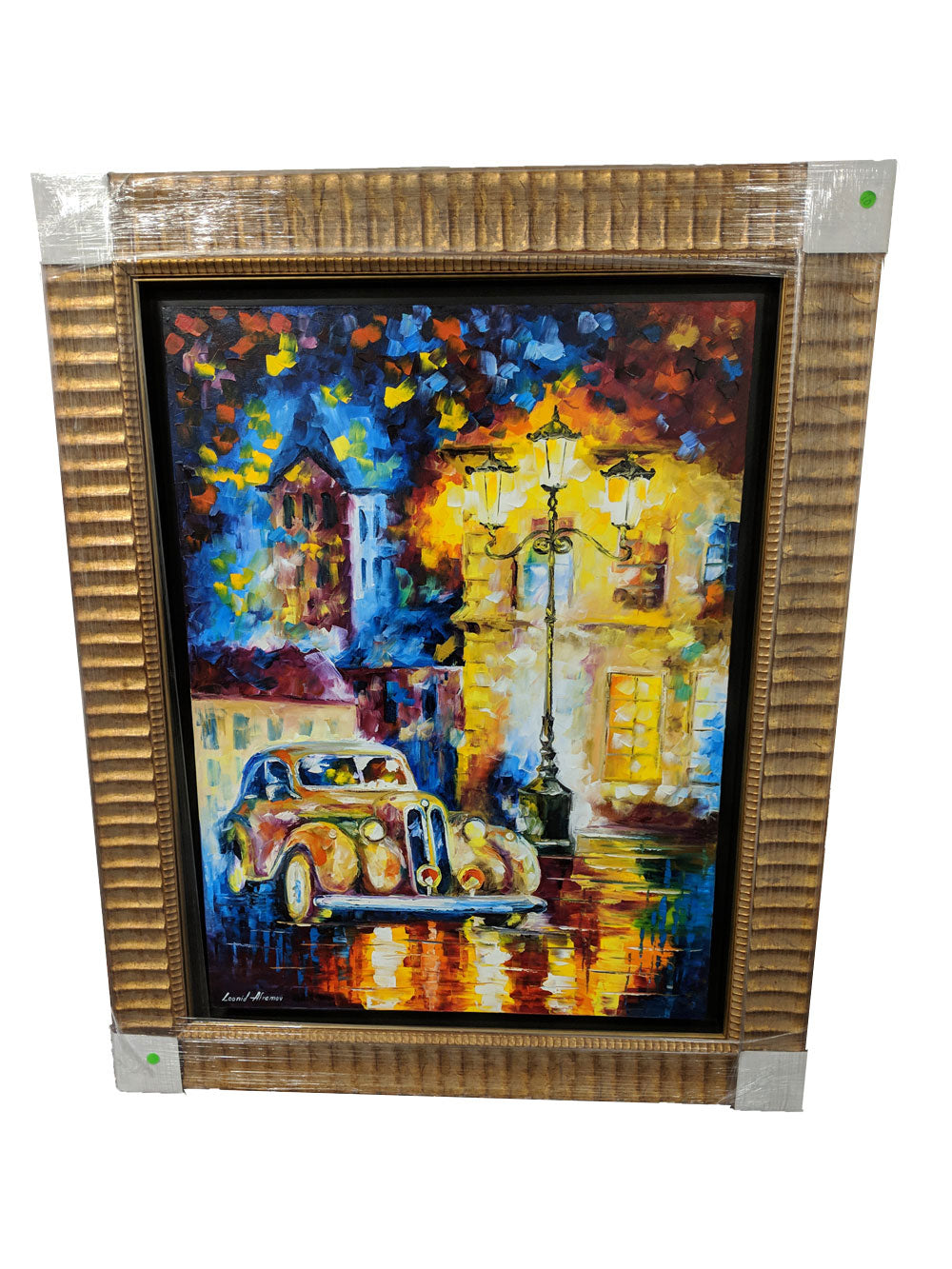 Leonid Afremov original oil painting - FREE SHIPPING