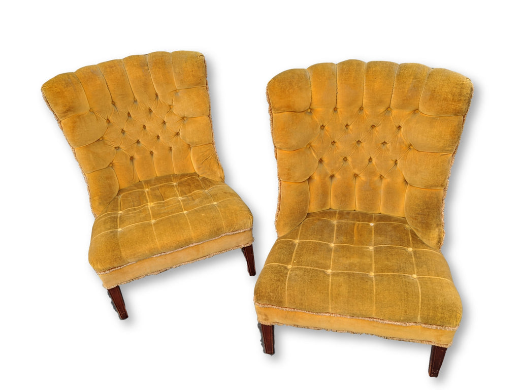 1950 Lounge chairs in original fabric