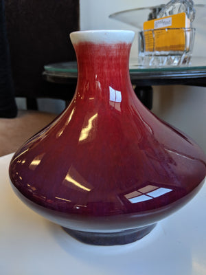 GMB California midcentury pottery vase, unmarked