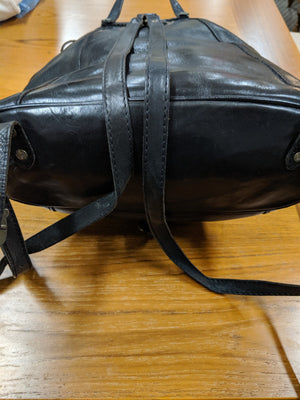 The Trend leather rucksack