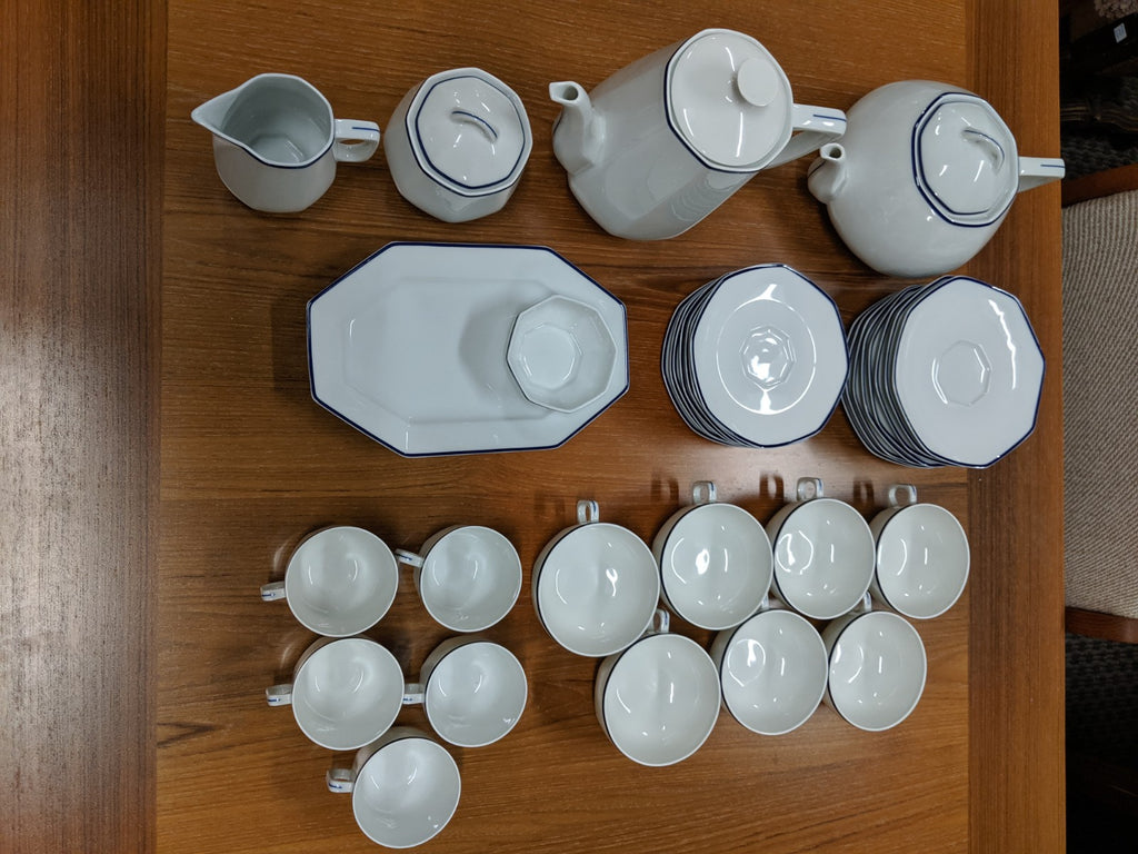 Mid-century Limoges tea set for 7