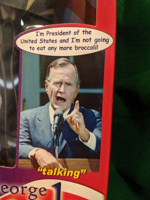 George H. W. Bush Talking President doll