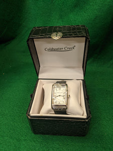 Coldwater Creek ladies watch, NWT