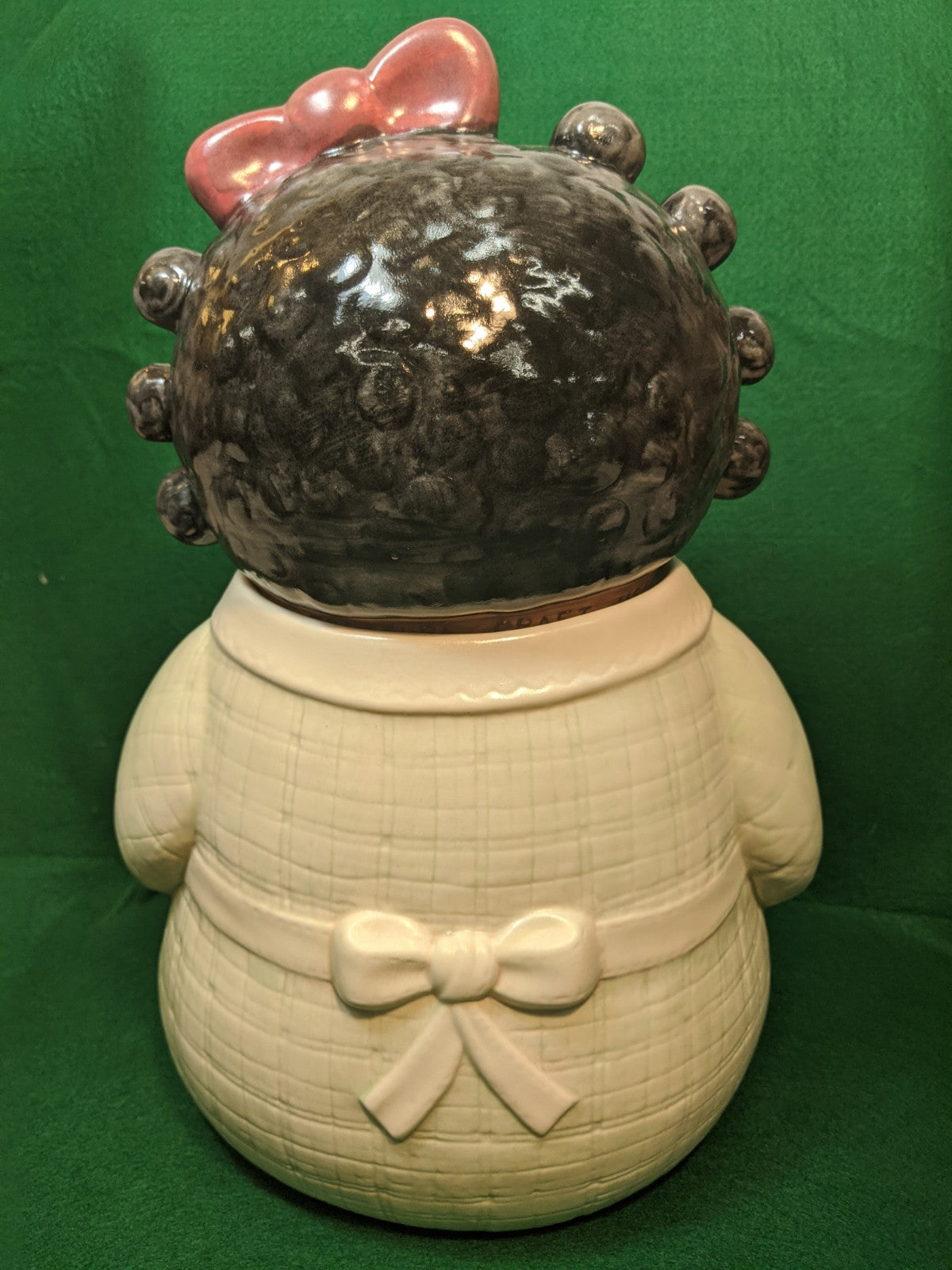 Vintage Treasure Craft Rag Doll Cookie Jar