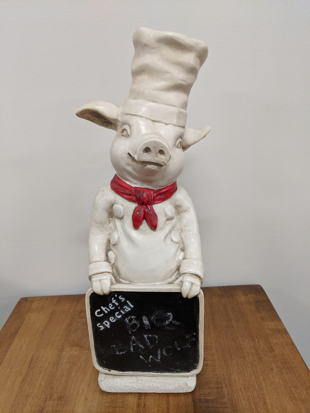 Chef Piggy's Daily Specials statuette