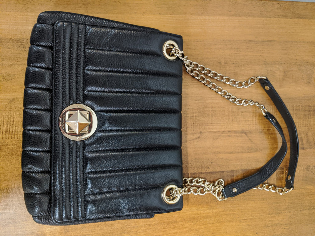 Kate Spade Black Leather Purse, NWOT
