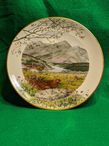 "Pete Banett Limited Edition ""September on the Moors"" collector plate"