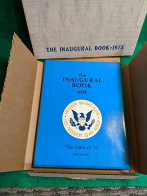 1st edition 1973 Inaugural Book, set