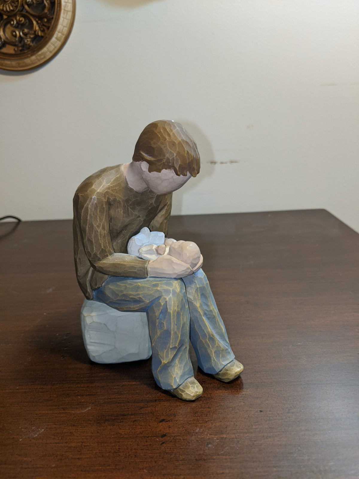 "Willow Tree ""New Dad"" statuette"