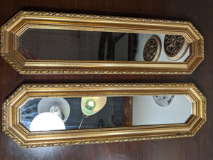"Berkley House Italian wall mirror, 16"" x 5"""
