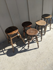 Antique stools