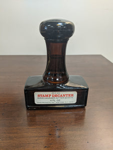 Vintage Avon PAID Stamp Decanter, full