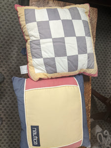 Nautica Pillow pair in primary colors