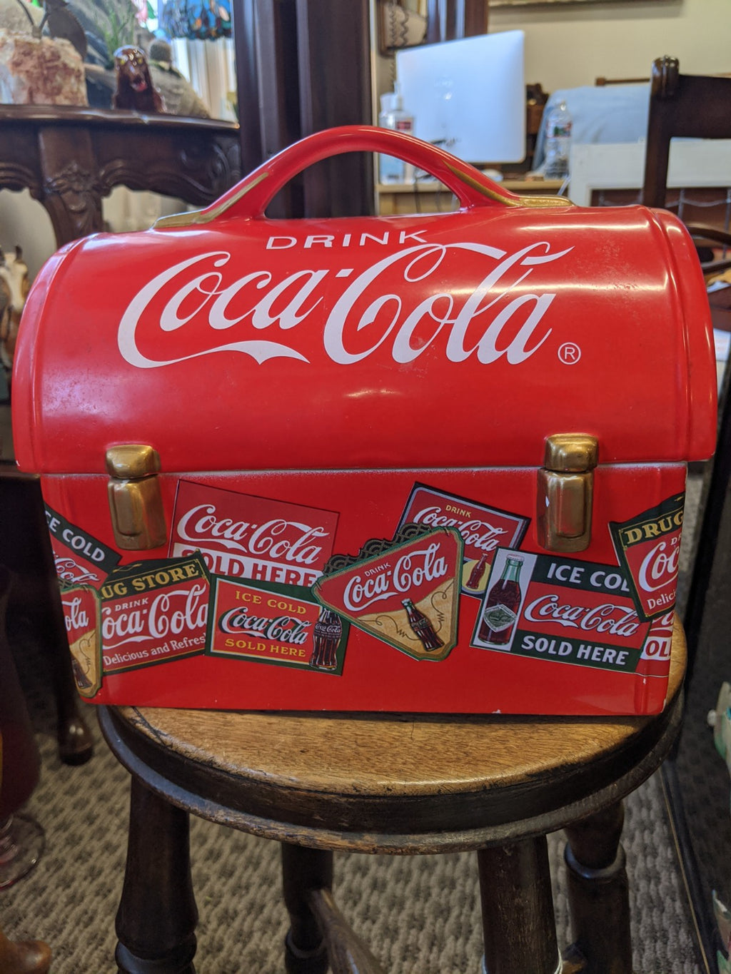 Coca-Cola cookie jar by Gibson