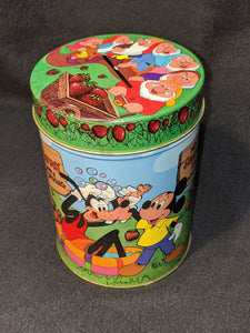 Walt Disney's Fantasyland Strawberry bath powder bank
