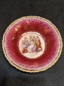Antique Victoria Austria Berry Bowl
